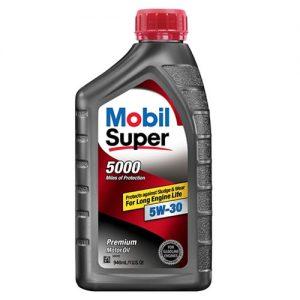 mobil super 5000