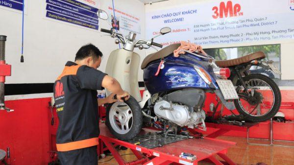 Tìm việc làm sửa xe máy